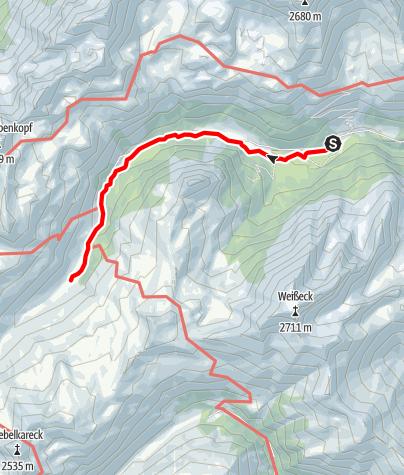 Karte / Örgnhiasalm - Schliereralm