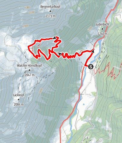 Karte / Fusch: Wasserfallweg Ferleiten