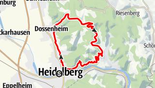 Karte / Weisser Stein Runde leicht
