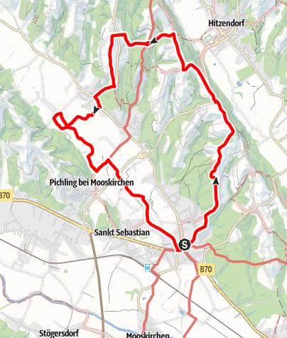 Karte / 5-Schlösser-Wanderung