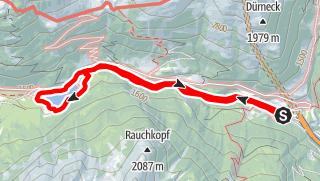 Karte / Schliereralm Sinneswanderung
