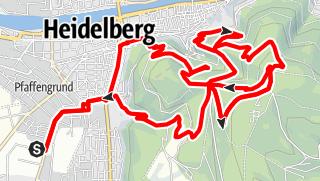 Karte / Königstuhlrunde Variante Schloss