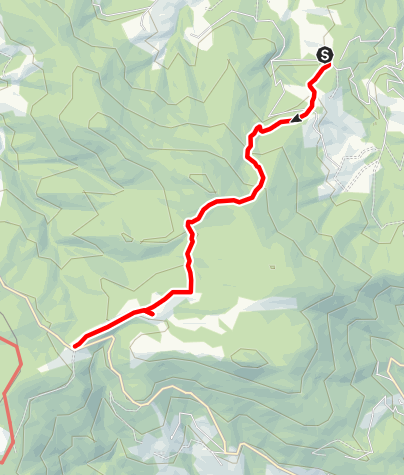 Karte / Winkelwanderung: Von Modriach-Winkel auf die Hebalm