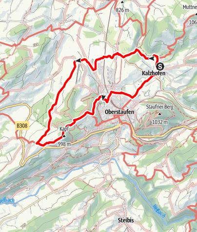Mappa / Volkstanzgruppe Wandertag 2010