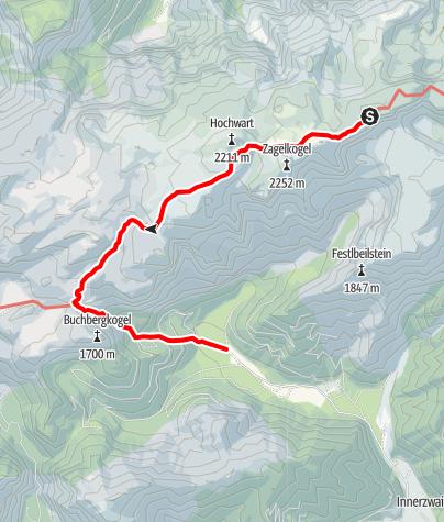 Karte / Bodenbauer - Häuselalm - Hochschwab