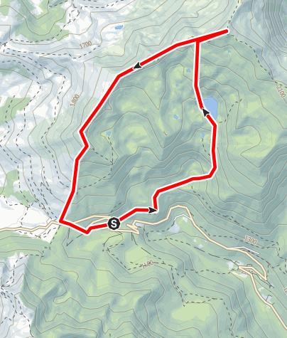 Karte / RANDO PIC DES TROIS SEIGNEURS