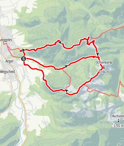 Map / Hirschtal-Umrundung von Lenggries
