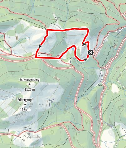 Karte / Adersberger Rundweg