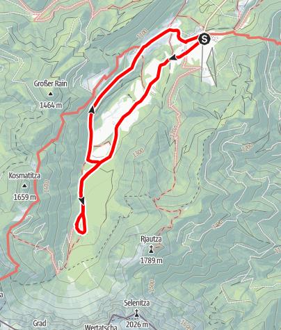 Map / Familienwanderung zur Märchenwiese