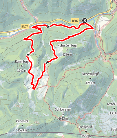 Mappa / Auf den Spuren Max I. zur Königsalm