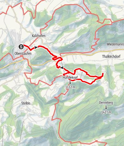 Mappa / Erlebniswanderweg Hündle-Schwändle