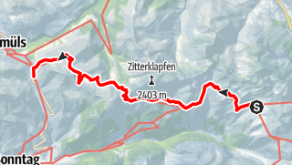 Karte / Kleinwalsertal - Bodensee Tag 4