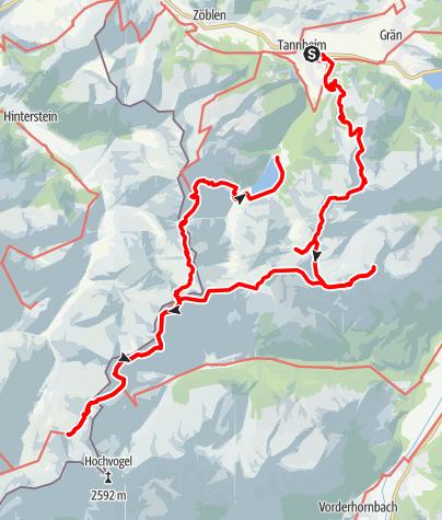 Mappa / Leilach - Saalfelder Höhenweg - Jubiläumsweg