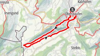 Mappa / 3 Oberstaufen-Eibele-Aach Rundweg