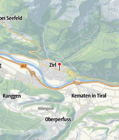 Karte / Zirl, GH Schwarzer Adler