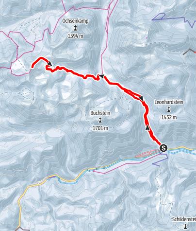 Map / Seekarkreuz