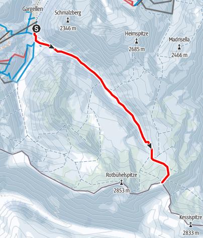Karte / Hinterberg