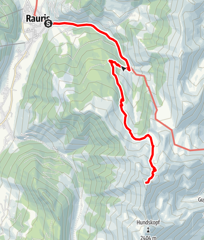 Karte / Rauris: Kramkogel Nr. 2