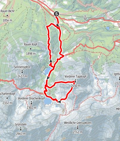 Karte / Tajakopf