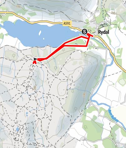 Karte / Rydal Caves walk 2may2019