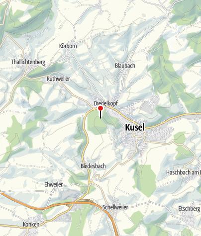 """Karte / Gaststätte """"Hubehaus"""""""