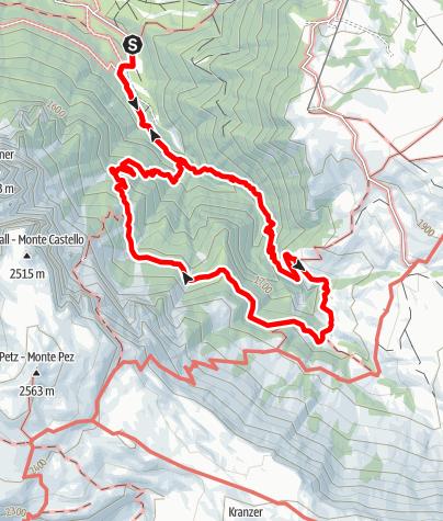Karte / Der Geologensteig