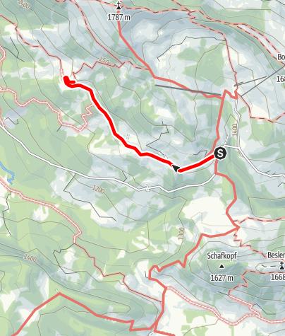 Karte / Mittelalpe