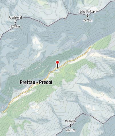 Karte / Berghotel Kasern