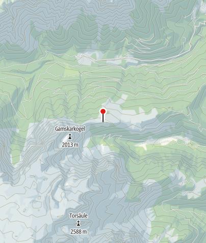 Karte / Ostpreußenhütte