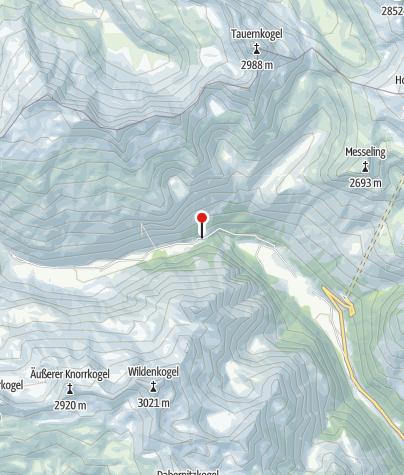 Karte / Berghaus Außergschlöß