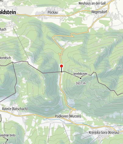 Karte / Wurzenpass