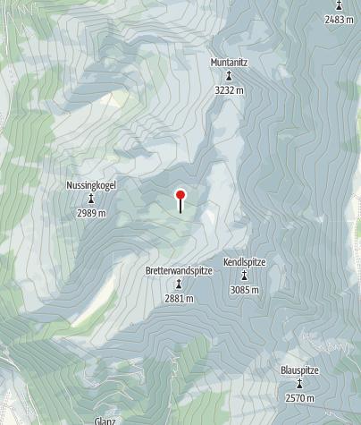 Karte / Sudetendeutsche Hütte