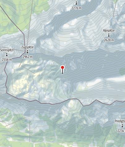 Karte / Knorrhütte