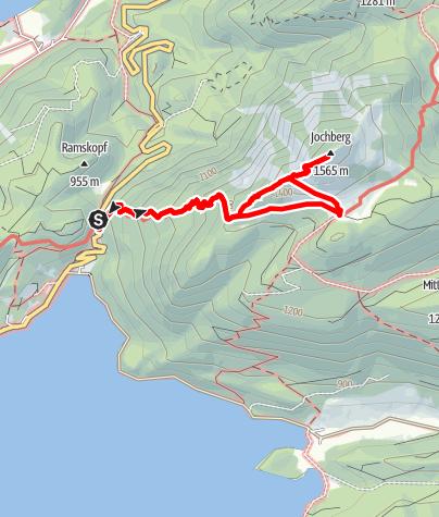 Karte / Jochberg und Jocheralm