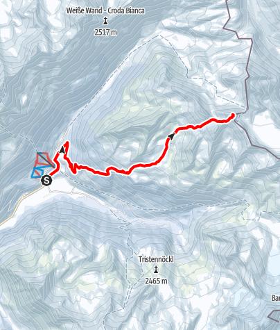 Karte / Dreieckspitze (3031 m)