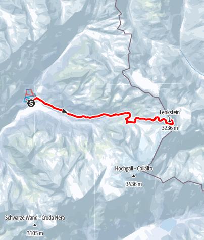 Karte / Lenkstein (3236 m)