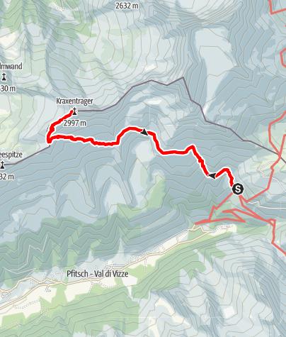 Karte / Zum Kraxentrager