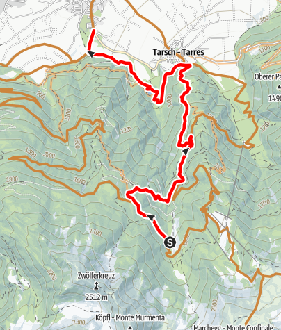 Karte / Roatbrunn Trail