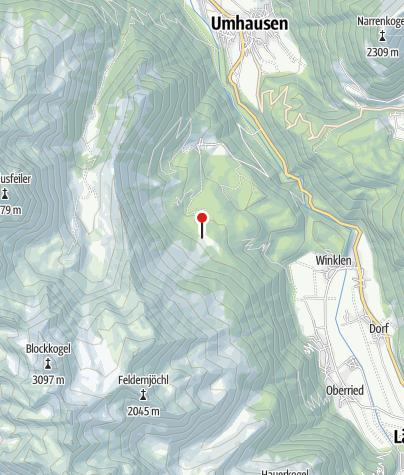 Karte / Wurzbergalm