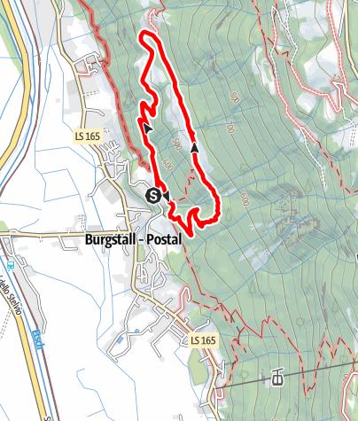 Map / Burgstall Höfetour