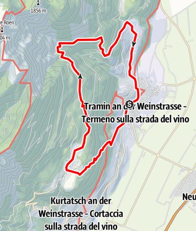 Karte / Traminer Höhenweg