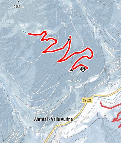 Karte / Skitour zum Schaufler 2.265 m
