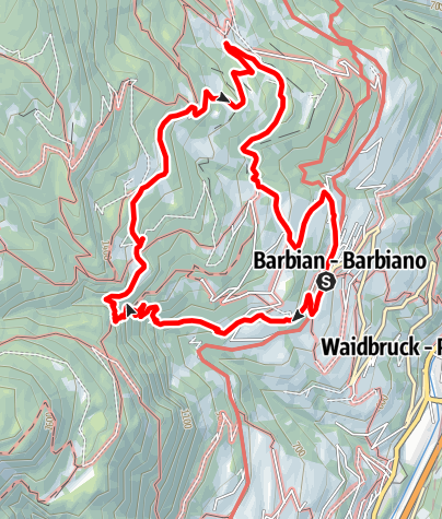 Karte / Wasserfall Dreikirchen-Runde 2
