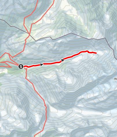 Karte / Zum Günther-Messner-Biwak