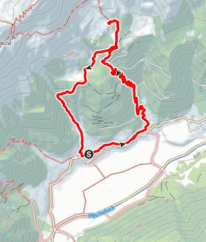 Karte / Rundwanderweg Grubbergalm