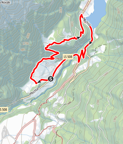 Karte / Rundweg Afens