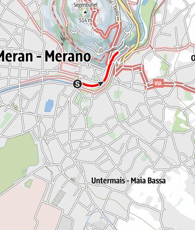 Karte / Winterpromenade Meran