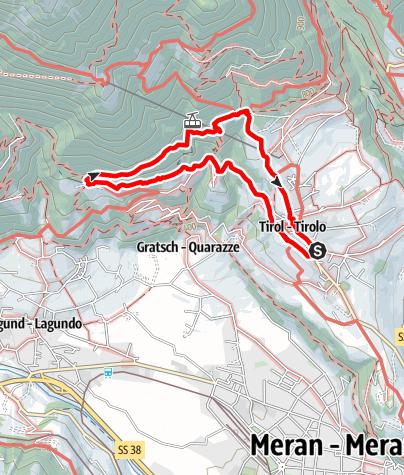 Mappa / Escursione sul Sentiero Herrschaftsweg