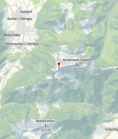 Karte / SonnenAlm Kampenwand