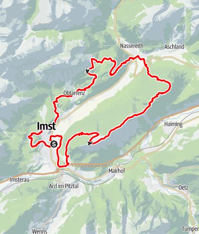 Karte / TschirgantSkyRun TS52